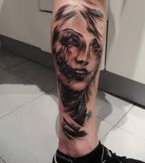 lady face tattoo flash 1000 geometric tattoos ideas