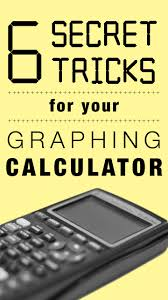 6 things you didn u0027t know you could do with your graphing calculator