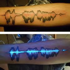 glow in the dark tattoo how long does it last 30 glow in the dark tattoos that ll make you turn out the lights