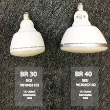 ul listed dimmable led br40 bulb 18w br40 light bulb torchstar