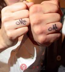 wedding ring tattoos couples images the girls stuff