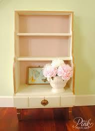 White Shabby Chic Bookcase by Product Portfolio Noble Vintage
