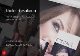 Website For Makeup Artist Activa Egypt For Website Design Service In Egypt Cairo Company Profile