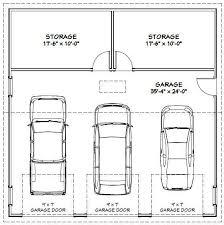 size of a 3 car garage 3 car garage dimensions best 25 3 car garage plans ideas on