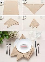 how to make table napkins table setting tips 3 basic napkin folds party inspiration