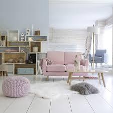 canapé 2 places la redoute 25 objets pastels pour adoucir votre intérieur la redoute déco
