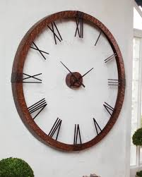 themed clock 30 large wall clocks that don t compromise on style