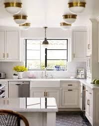 small kitchen with flush mount overhead kitchen lighting flush