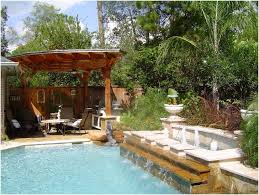 Pool Landscaping Ideas On A Budget Backyards Superb Small Backyard Landscape Design 28 Desert