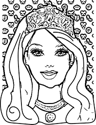 barbie coloring pages wecoloringpage