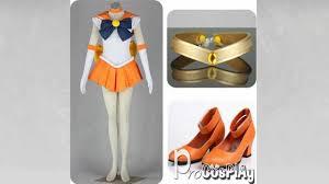 Sailor Venus Halloween Costume Procosplay Cheap Sailor Moon Sailor Venus Aino Minako Cosplay