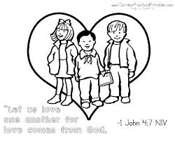 5 best images of god loves you preschool printable god is love