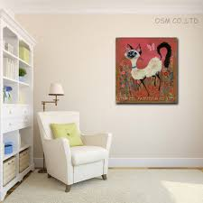 best selling handmade items abstract paintings animals oil