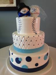 baseball wedding cake toppers la dodger theme wedding cake with baseball toppers wedding cakes