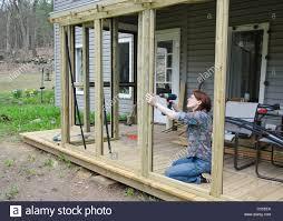 screened porch stock photos u0026 screened porch stock images alamy