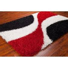 contemporary rugs with black maroon and ivory colors black swirl