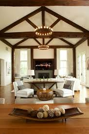 Family Room With Sectional Sofa Behind Sofa Table Family Room Farmhouse With Sectional Sofas White