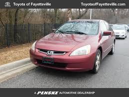 2003 used honda accord sedan ex automatic w leather at toyota of