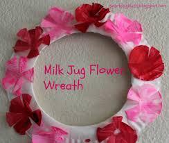milk jug lotus flower craft sparklingbuds