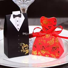 wedding favor boxes wholesale white wedding favor boxes handsome black white tuxedo favor boxes