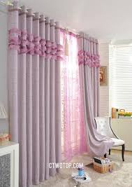 plum ruffled modern patterned designer curtains and drapes