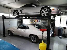 awesome car garages 4 post car lift dimensions heishoptea decor best car lift for