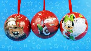 disney tree balls pixar cars and mickey mouse