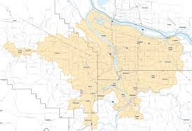 Beaverton Oregon Map by Kate Brown Minimum Wage Plan 15 52 For Portland Area 13 50