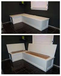 Bench Seat With Storage Custom Breakfast Nook With Storage Do It Yourself Home Projects