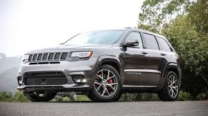 jeep cherokee gray 2017 top speed 2017 jeep grand cherokee srt manual transmission youtube