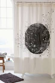 Bathroom Curtains Ideas Bathroom Bronze Mosaic Fabric Shower Curtain And Bathroom
