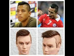 alexis sanchez youtube alexis sanchez haircut tutorial youtube peinados pinterest