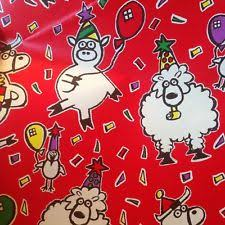 cow wrapping paper cow gift wrapping paper ebay