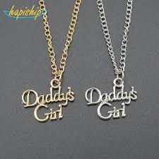 girl necklace pendant images Hapiship fashion women jewelry gold daddy 39 s girl pendant choker jpg