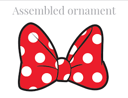 minnie mouse bow template mouse 2017