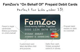 debit cards for kids famzoo s on behalf of prepaid debit cards are fo flickr