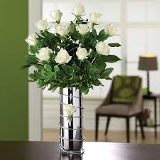 White Roses Centerpieces by Choys Flowers U2013 Hendersonville Nc U2013 Florist U2013 Wedding Centerpieces