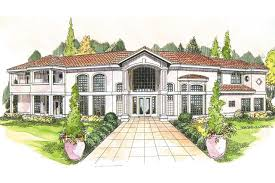 High End Home Plans by Mediterranean House Plans W Home Design Goxzo