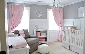 Pink Curtains For Nursery Simple Nursery Pink Curtains Correct Way To Hang Nursery Pink