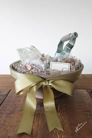 Gifts For Housewarming by Gardening Gift Basket Housewarming Gift