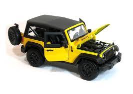 jeep toy car maisto 1 18 special edition 2014 jeep wrangler 31676 yellow