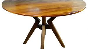 sullivan round dining table astounding sullivan mid century round dining table wood espresso
