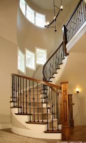 Home Interior Stairs 58 Best Interior Stairs And Balusters For Modern Prairie Images On