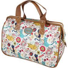 bloom bags bloom weekender travel bag luggage friends cats ebay