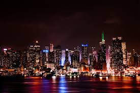 manhattan skyline manhattan skyline after dark by augenstudios on deviantart