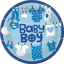 blue baby shower how to diy the baby shower for a boy easy canvas prints