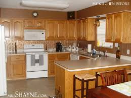 grey kitchen walls with light wood cabinets oak kitchen cabinets kitchen remodel before dated