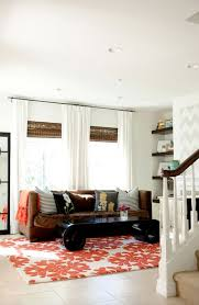 Orange And White Rugs 140 Best Decorating With Orange U0026 Turquoise Images On Pinterest