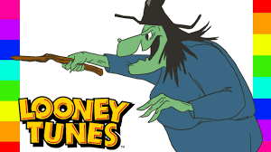 coloring witch hazel disney looney tunes coloring pages for kids