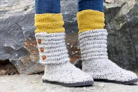 ugg crochet slippers sale how to crochet boots with flip flops free pattern tutorial